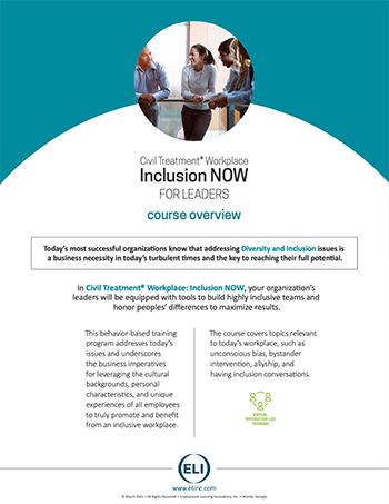 Inclusion NOW Module Overview